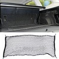 41 x 25 Inches Cargo Net for SUV Truck Bed or Trunk Elastic Nylon Mesh Universal Rear Car Organizer Net Black #276274