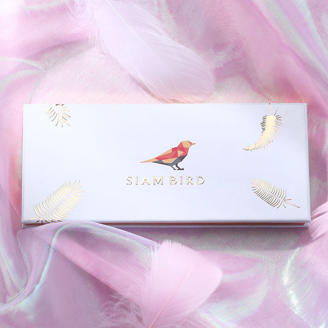 Siam BIRD Professional อายแชโดว์แต่งหน้า Matte & Shimmer 12 สีสีสูงและกันน้ำยาวนานอายแชโดว์