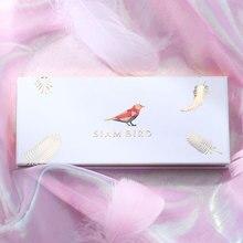 Siam Bird 12 Цветов Тени Для Век Для Макияжа Профессиональная Палетка теней Матовый Блеск яркий Тени для век Пигмент Палетки