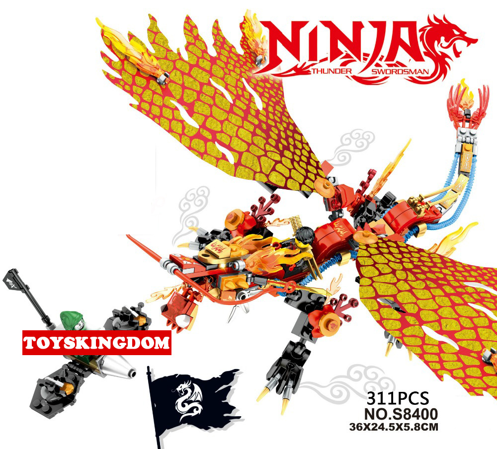 Hot Phantom ninja The flames Flying dragon knighs go building block Kai figures fighter bricks toys for boys gifts