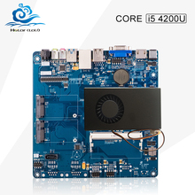 2016 New mini -itx motherboard core i5 4200U desktop computer hdmi+vga sata 3 ddr3 usb 3.0 integrated mainboard