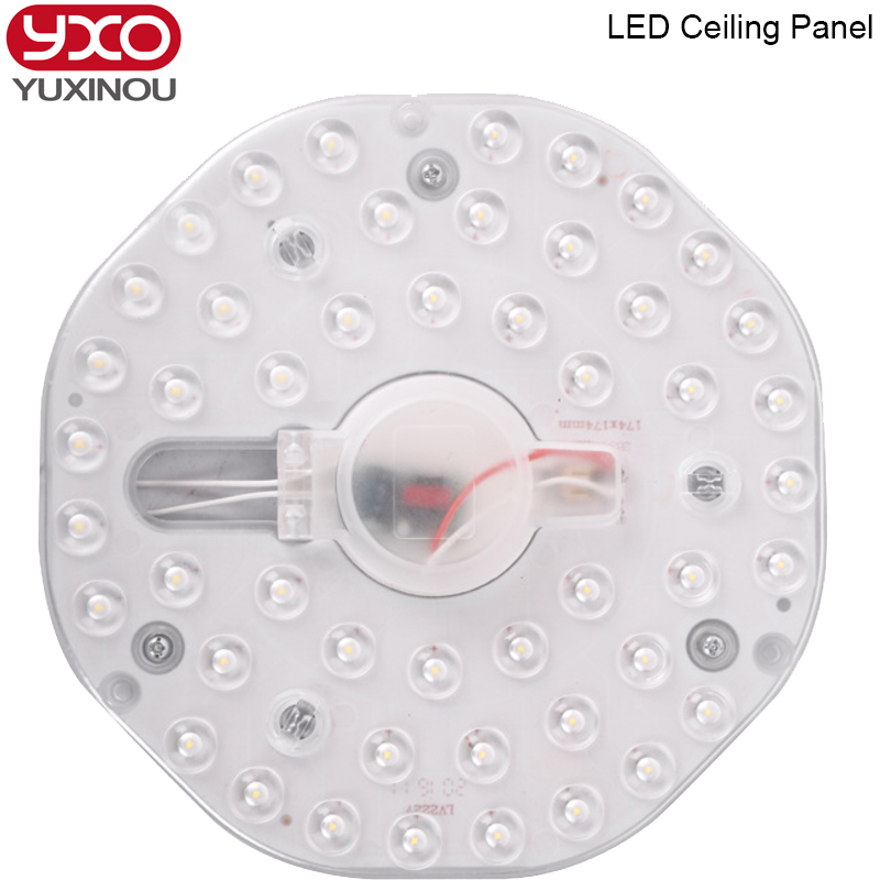 1cs 12W 18W <font><b>24W</b></font> <font><b>LED</b></font> <font><b>module</b></font> ceiling light SMD2835 AC220V 230 240V indoor lighting Replace Ceiling Lamp Source easy install Free image