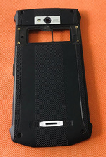 """تستخدم الأصلي واقية غطاء البطارية + عدسة الكاميرا ل Blackview BV8000 برو 5.0 """"FHD MTK6757 ثماني النواة شحن مجاني"""