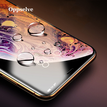 Oppselve 0.23mm Screen Protector Tempered Glass For iPhone Xs Max X Xr 10D Full Cover Protective 8 7 6 6S Plus