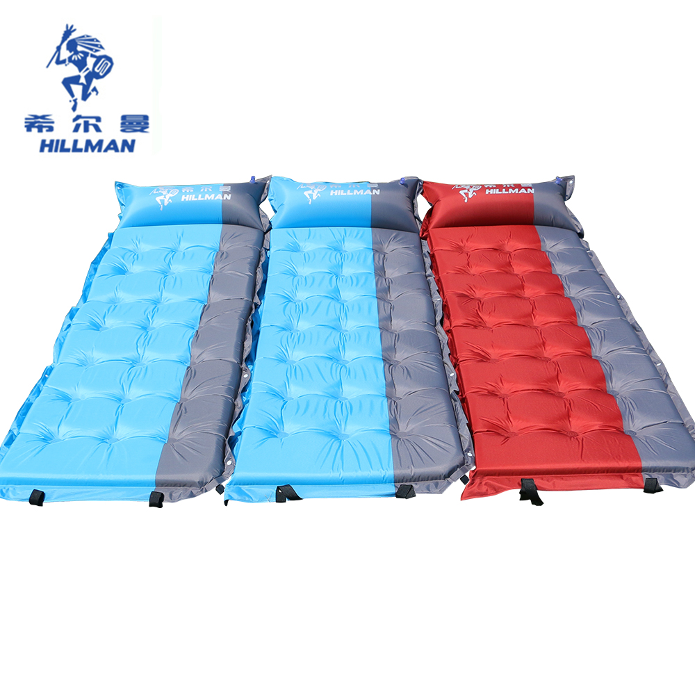 Tent accessories 5cm Automatic Inflatable mattress Camping Mat Outdoor Cushions Inflatable Air Mattress Sleeping Pad With Pillow inflatable mattress camping mat sleeping mat outdoor cushions inflatable air mattress camping sleeping pad
