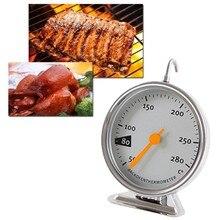 Кухонная электрическая духовка термометр 50-280 ° C Температура пищевого мяса стоячий циферблат датчик из нержавеющей стали термометр для духовки посуда для выпечки