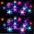 Navidad Great! Украшение для ремесел  праздничная лампа  Рождественская елка  2 5 м  цветной маленький взрывной шар  светодиодное освещение батареи ...