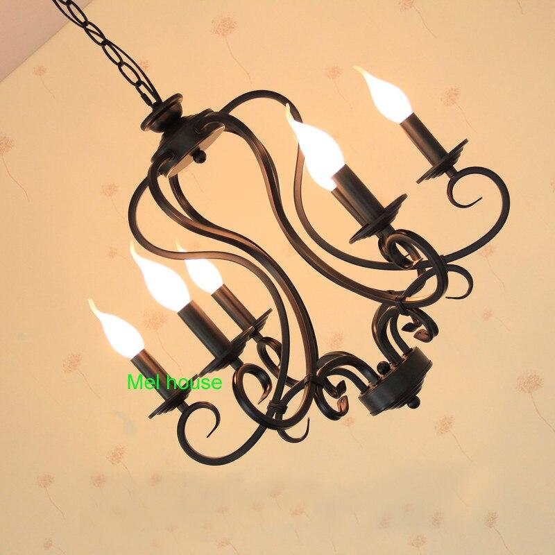 lampe retro kronleuchter beleuchtung industrie glühbirnen lampe - Innenbeleuchtung - Foto 3