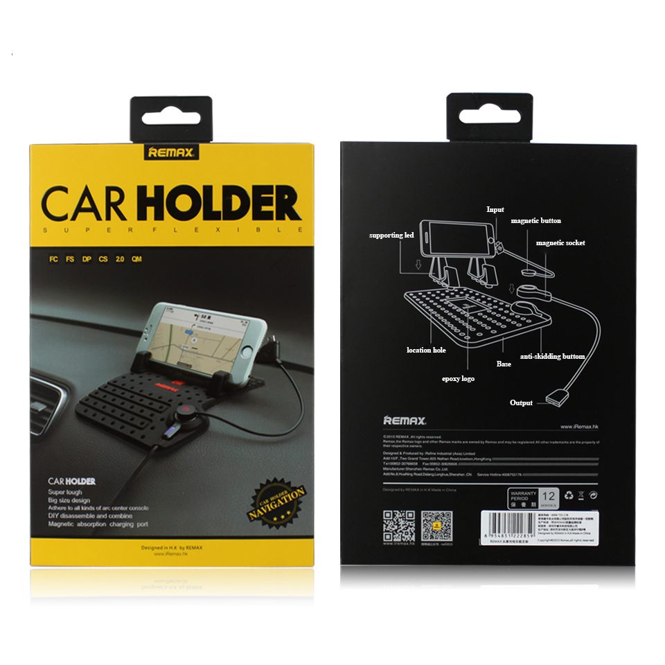 Universal Mobile Phone Holder For GPS iPad for iPhone Sam-sung Xiao-Mi Hua-Wei smart Phone Car Holder