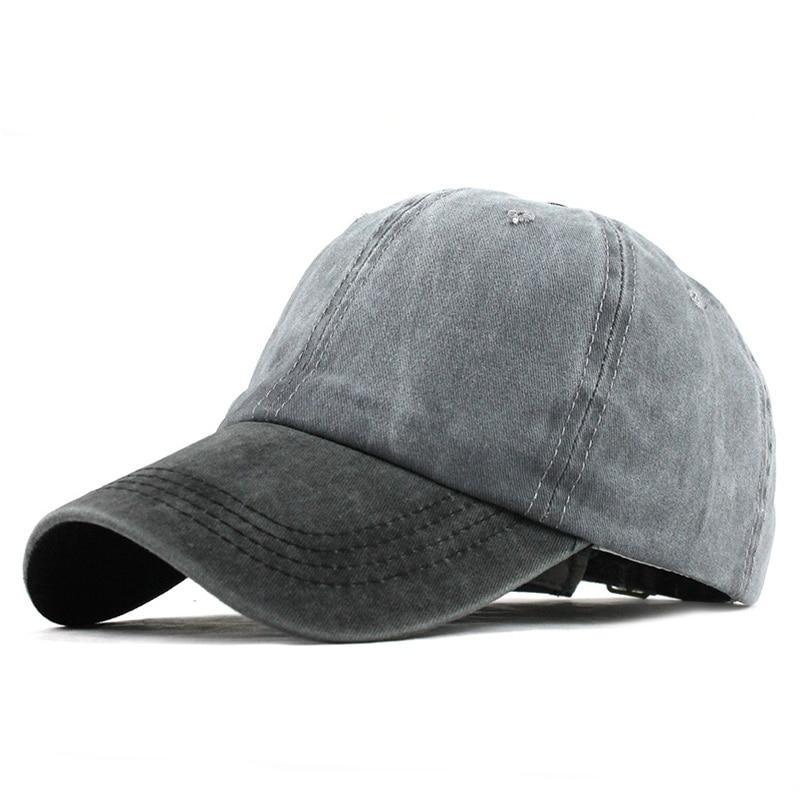 4a1d49ae6 9 Mixed colors Washed Denim Snapback Hats Autumn Summer Men ...