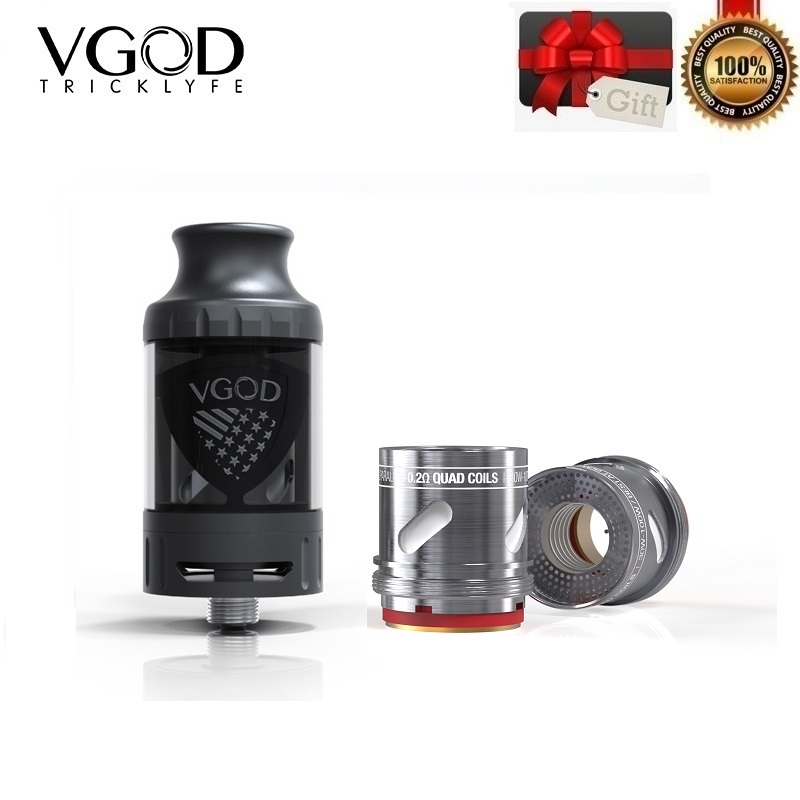 Original VGOD Pro Subtank 5ml Vape Tank 24mm Rebuildable Dripping Atomizer for PRO 200 Box Mod