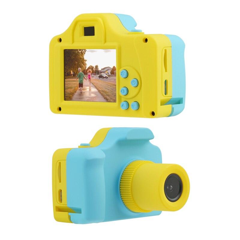 Cámara Digital de 1,77 pulgadas niños a todo Color Mini LSR videocámara de dibujos animados grabadora de vídeo niños aprendizaje fotografía juguetes compatible con tarjeta TF