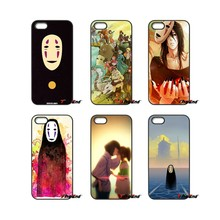 For Moto E E2 E3 G G2 G3 G4 G5 PLUS X2 Play Nokia 550 630 640 650 830 950 Japan Spirited Away No Face Art Poster Phone Case(China)
