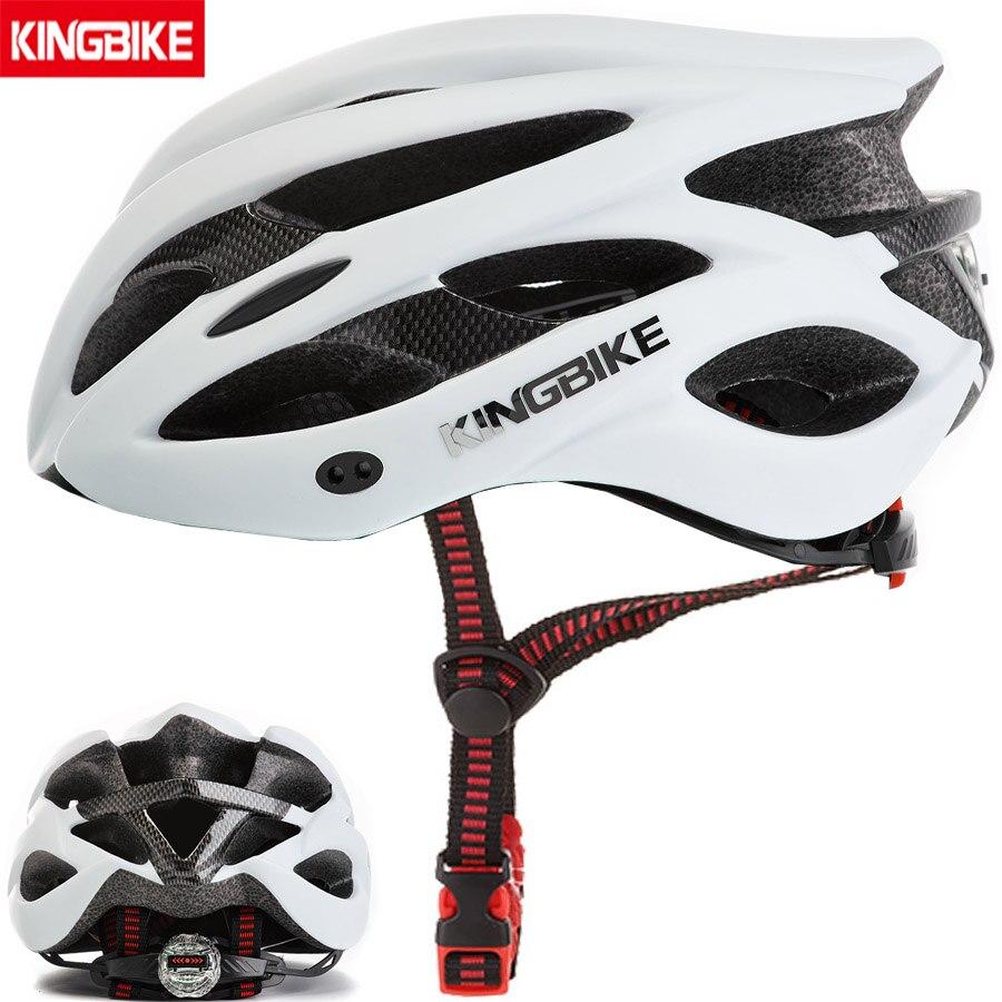 KINGBIKE MTB Bicycle Helmets Green Ultralight EPS+PC Cycling Helmet Road Mountain With Sun visor taillight Men Women Bike Helmet Mercedes-Benz A-класс