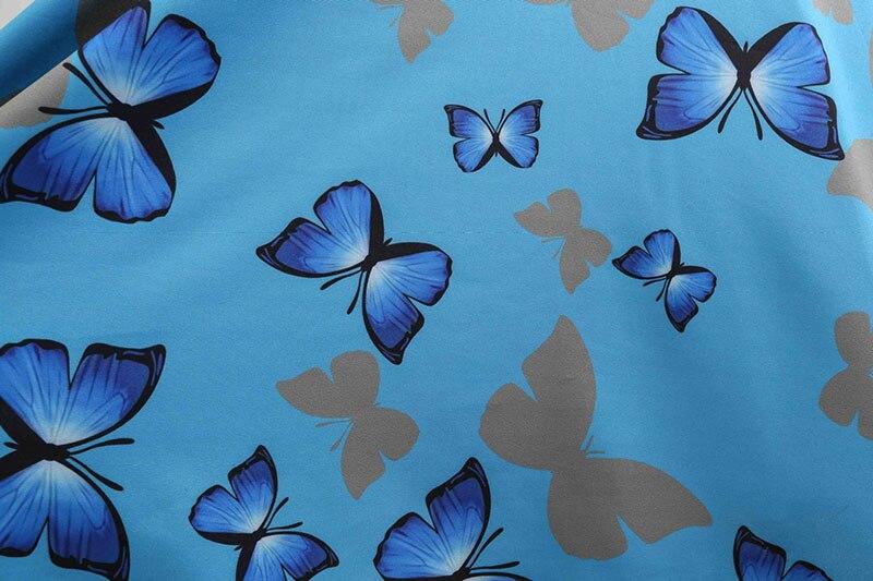 Blue Vintage Swing Dress 58