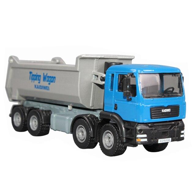 free shipping 620008 8 wheel heavy duty dump truck alloy car model toy car