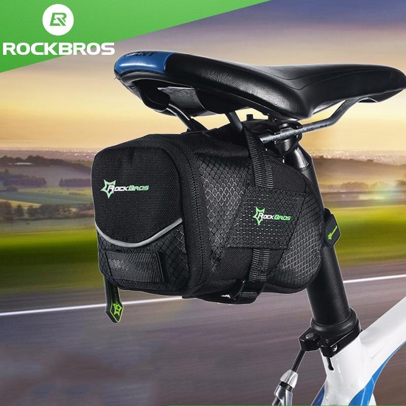 9a14e898360 ROCKBROS Fahrrad Tasche Mit Deckel Faltrad Sattel Tasche Für EINE Fahrrad  Nylon Radfahren Hinten Sattelstütze Schwanz Pouch MTB Bike zubehör in  ROCKBROS ...