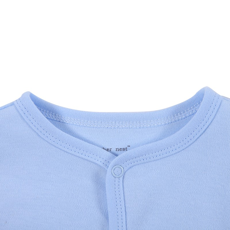 2016 New Style Baby Clothing Cotton Long Sleeve Baby Footies Spring Autumn Infant Jumpsuit Round Collar Baby Sleepers Unisex (6)
