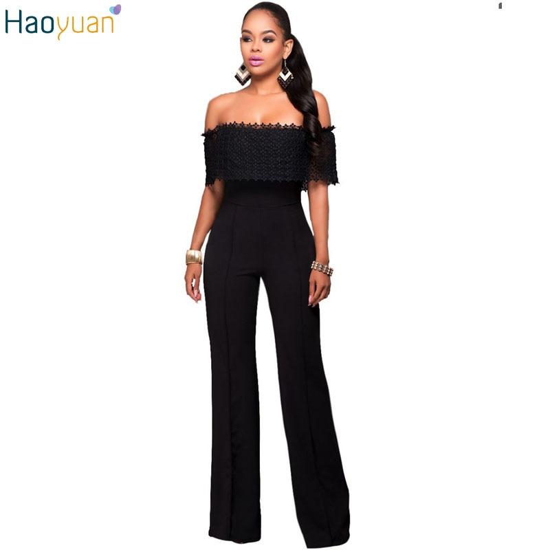 haoyuan fashion elegant rompers womens jumpsuit off. Black Bedroom Furniture Sets. Home Design Ideas