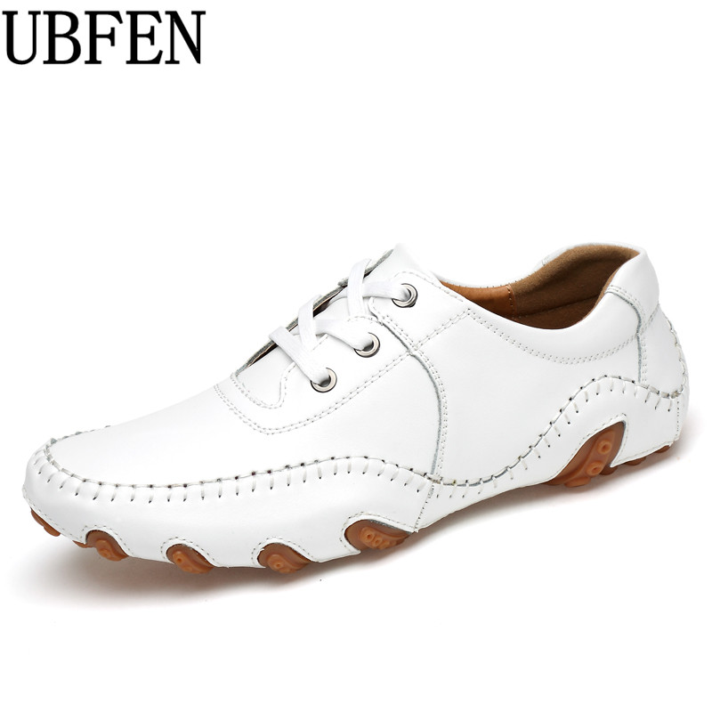 UBFEN New 2017 Men Split Leather Flats Fashion Men Casual Shoes Moccasins Loafers Quality Drivng Shoes Zapatos cbjsho brand men shoes 2017 new genuine leather moccasins comfortable men loafers luxury men s flats men casual shoes