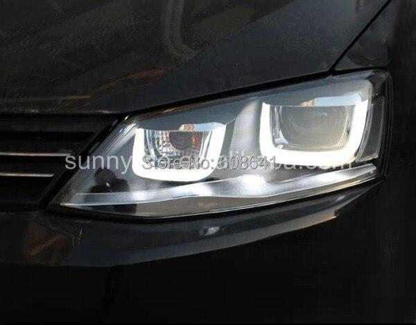 Za VW Novo Jetta MK6 LED prednje svjetlo U tip SY Sa HID kitom u - Svjetla automobila - Foto 2