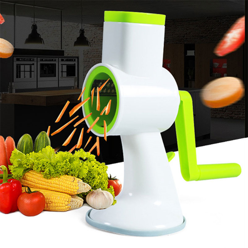 US $23.31 6% OFF|XMT HOME New kitchen gadgets round kniferound drum slicer  and grater for potato cucumber vegetables cutter 1pc-in Shredders & Slicers  ...