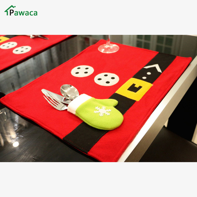 Pawaca Cute Home Desktop Decor Table Set Xmas Best Gift Christmas