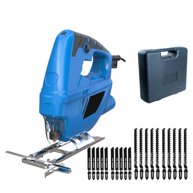 DIY fretsaw electric curve saw plus 20pcs saw blade household electric woodworking saw multi-function dust free sawing machine