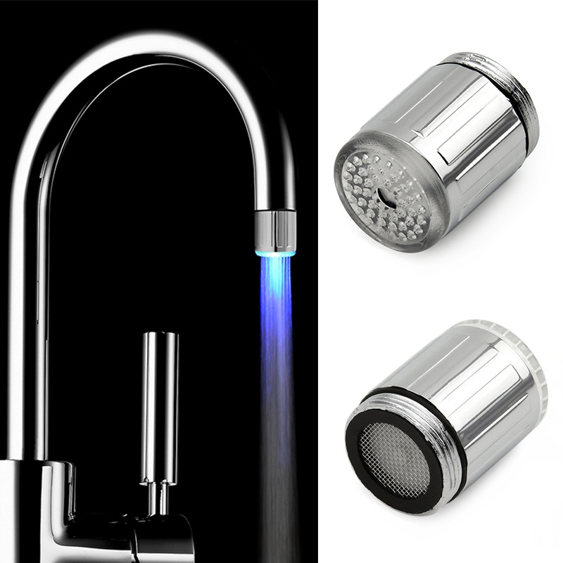 Aliexpress.com : Buy Kitchen Tap Head 3 Color Water Glow