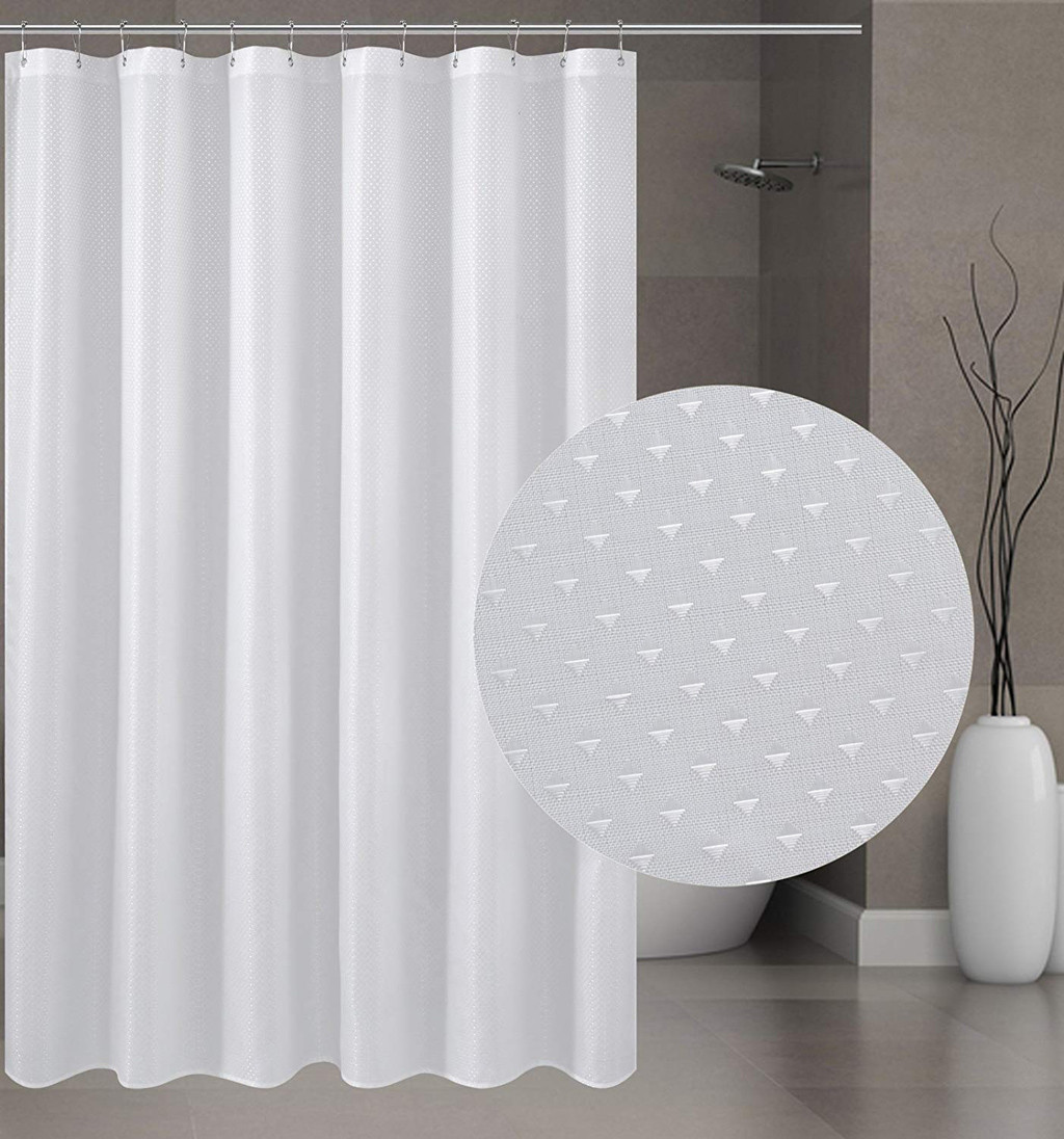 Waterproof Shower Curtain Mildew Resistant Washable Bath Curtains Bath Screen For Home