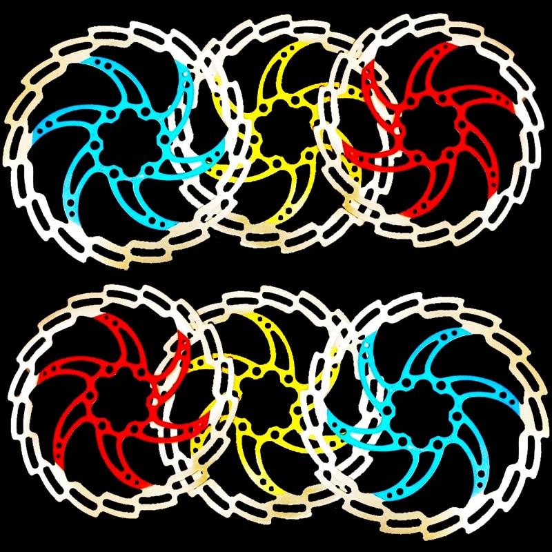 자전거 2 개 / 몫 디스크 브레이크 로터 AVID160mm BB5 BB7 G3 엘릭서 사이클링 유압 디스크 브레이크 산악 자전거 브레이크 디스크 로토
