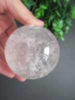 Natural Stone Gemstone Rose Quartz Sphere Crystal Ball 67MM Chakra Healing Reiki Stone Carving Crafts