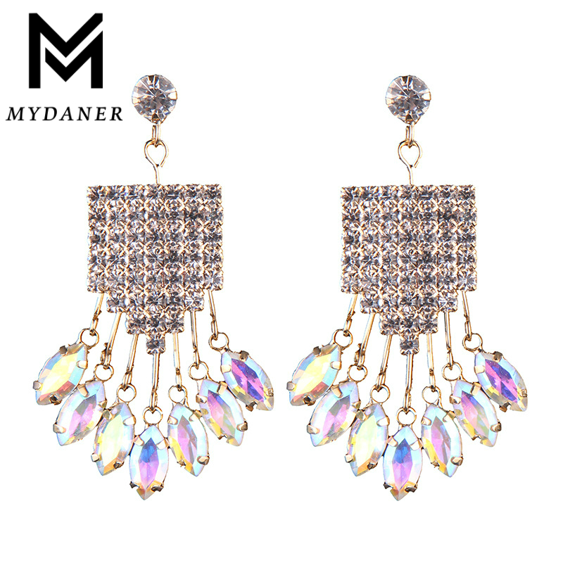 Mydaner 2017 Hot Sale Women Long Link Drop Earrings