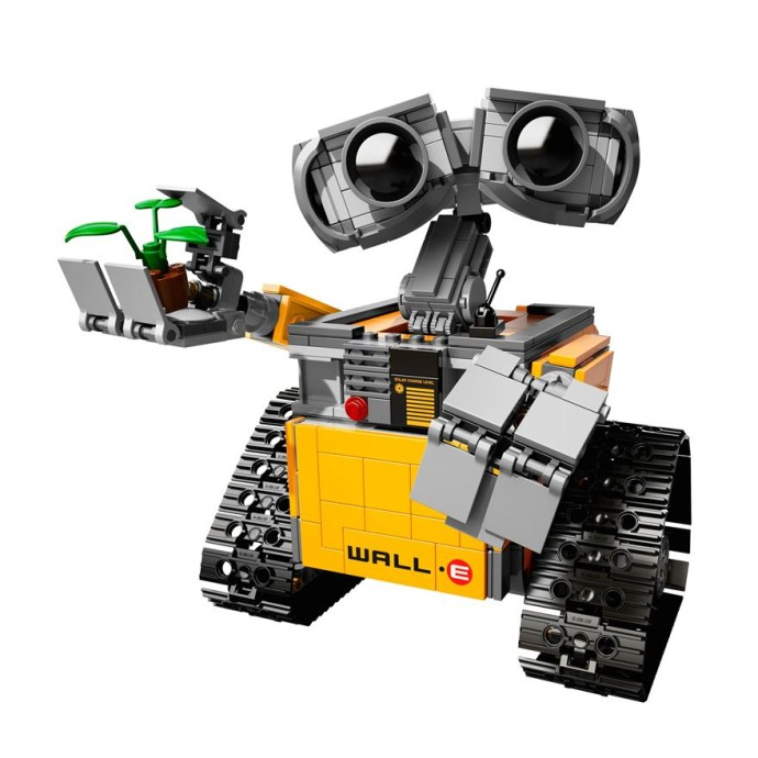 CHINA BRAND L003 Educational Toys for children DIY Building Blocks Ideas  Wall-E Compatible with Lego 21303  china brand l0146 educational toys for children diy building blocks 00146 compatible with lego