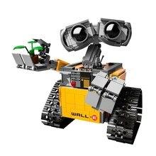 КИТАЙ МАРКА L003 Развивающие Игрушки для детей DIY Строительные Блоки Идеи Wall-E Совместимы с Lego 21303
