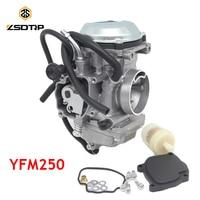 ZSDTRP Carburetor Carb Fit for Yamaha 250 Bear Tracker YFM250 1999 2004 ATV with Throttle Base Cover Rubber Gasket Filter