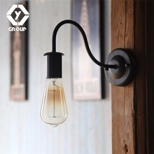 hot deal buy oygroup 2 pieces retro loft wall lamp e27 indoor vintage wall lamp indoor lighting bedside lamps wall lights for home #oy17w04