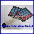 16 Chave Teclado Interruptor de Membrana 4x4 4x4 4*4 Matrix Matriz teclado Matrix para arduino carro inteligente