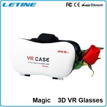 แฟชั่นชุดหูฟังความเป็นจริงเสมือนแว่นตา3d googleกระดาษแข็งvr boxกรณีดีวีดีภาพยนตร์สำหรับiphone samsungโทรศัพท์แว่นตา