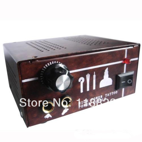 ФОТО Dual Output Power Supply Power Supply Tattoo Power Supply PS-38 for tattoo machine gun kit high quality free shipping