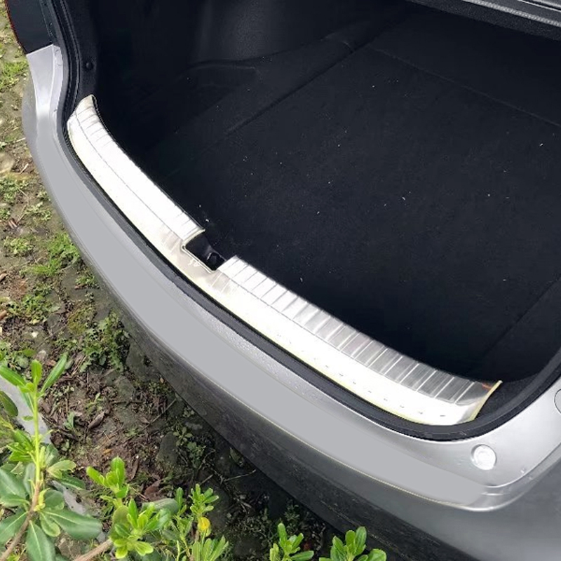 Acura Tlx Pricing: Rear Boot Bumper Guard Plate Molding Trim Stainless Steel