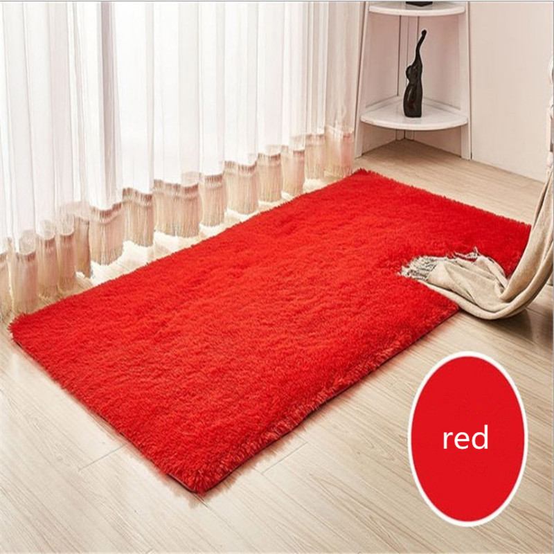 Large Size 2m*3m Long Plush Shaggy Thicken Soft Carpet