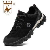 BACKCAMEL Для мужчин; повседневная обувь Кожа Открытый Обувь для отдыха нескользящая подошва устойчивостью Вулканизированная обувь Комфорт Об...
