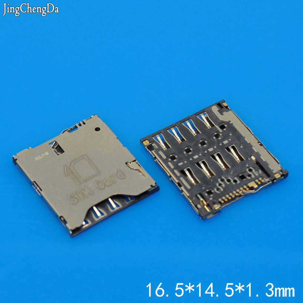 Jing Cheng Da 1pcs/lot, for HTC ONE S Z520E 8S A620E A620D A620T SIM card reader holder Connector module
