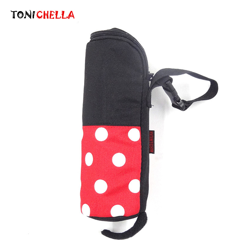 Baby Milk Bottles Thermal Bag Portable Oxford Cartoon Mickey Minnie Travel Infant Breastfeeding Warmer Insulation Bag CL5467
