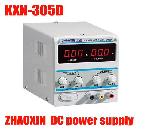 high quality KXN-305D DC power supply / 0-30V 0-5A Laptop repair DC power adjustable 30V 5A DC Power Supply four digit display rps3003c 2 adjustable dc power supply 30v 3a linear power supply repair