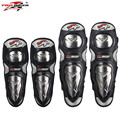 Pro-Biker Stainless Steel Motorcycle Elbow & Knee Pads Protectors Guards Motocross Equipment Knee Protection Gear P19