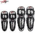 Pro-Motociclista Motocicleta Aço Inoxidável Elbow & Knee Pads Protetores Guardas Motocross Equipamentos de Proteção No Joelho Engrenagem P19