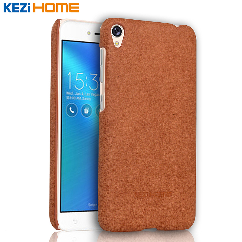 buy asus zenfone live zb501kl case kezihome frosted genuine leather hard back. Black Bedroom Furniture Sets. Home Design Ideas