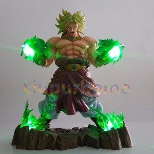 Dragon Ball Z Broly Led Lighting Super Saiyan Green Power Led Light Lamp Dragon Ball Super Broly Led Lamp|LED Night Lights| |  -